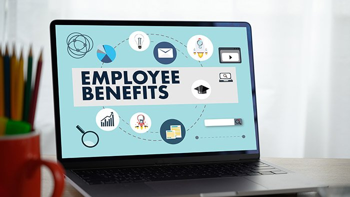 get employee benefits online michigan